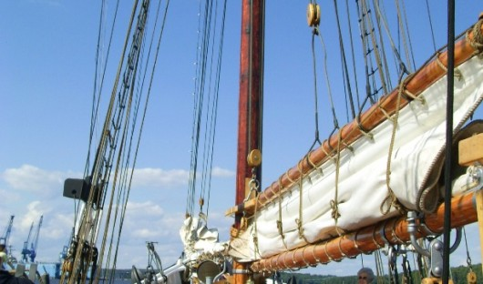 Bluenose at Maine Maritime Museum- TD